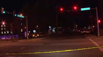 Pittsburgh police shot a man after a chase that ended in Wilkinsburg early Monday morning.