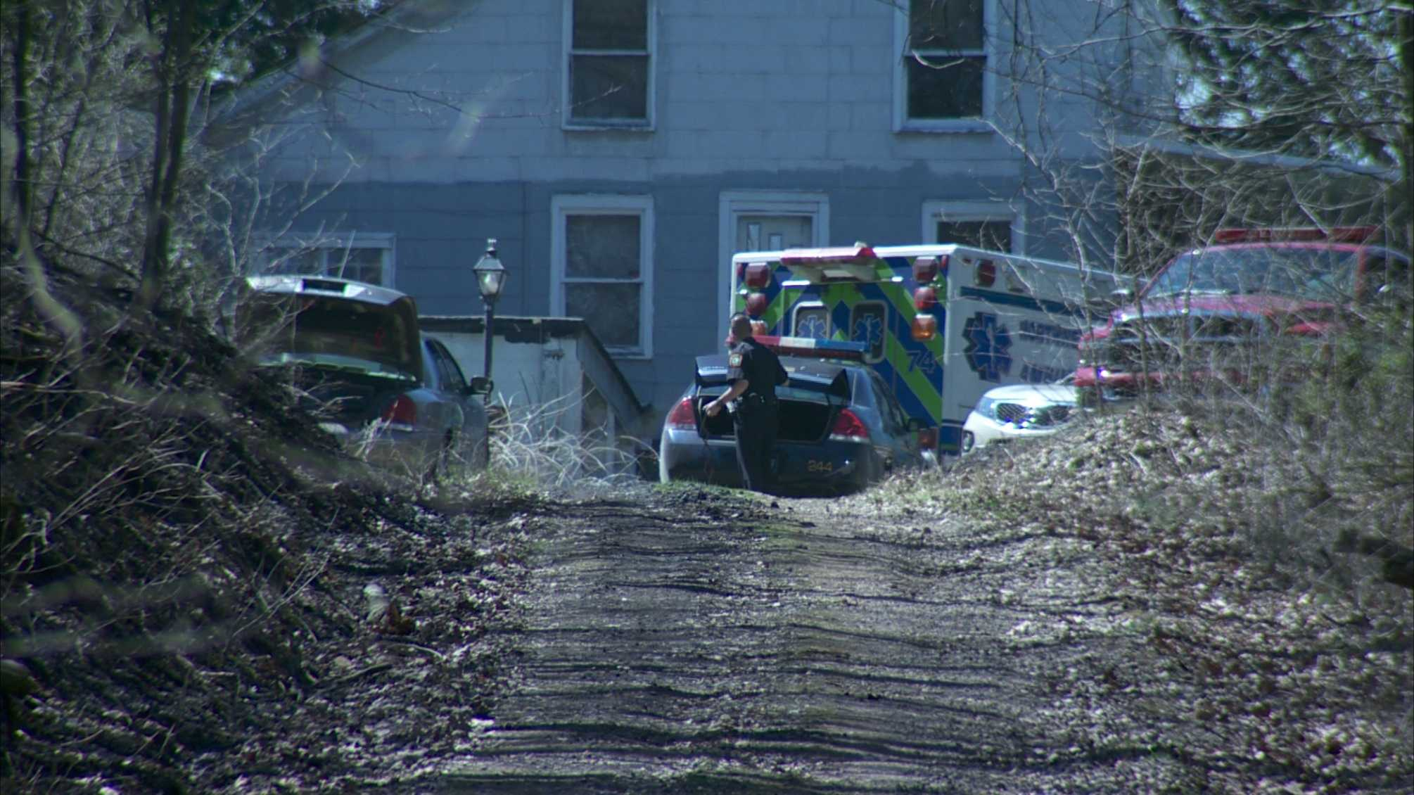 A man's body was found at the site of a grass fire just off Court Road in South Beaver Township.