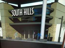 The mall's five existing entrances will be redesigned.
