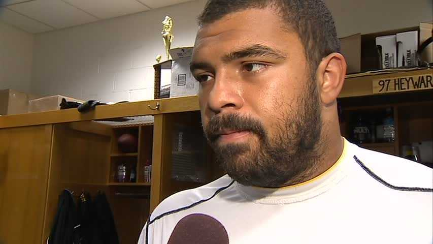The Steelers picked up the 2015 option on defensive end Cam Heyward.