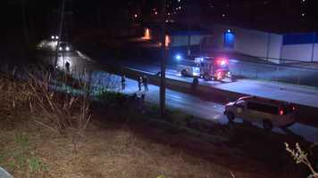 A rollover crash on Robinson Boulevard in Wilkinsburg killed a 24-year-old woman.