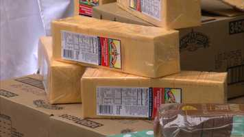 Land O'Lakes donated 40,000 pounds of cheese products that will help provide more than 33,000 meals to families in need.