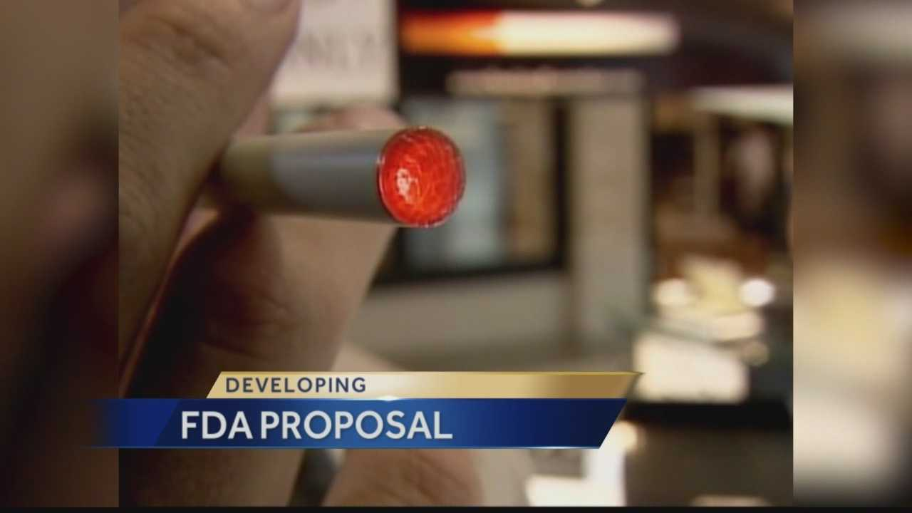 Pittsburgh's Action News 4's Janelle Hall has the latest on what the FDA is expected to announce later today when it comes to new regulations for E-Cigarettes.