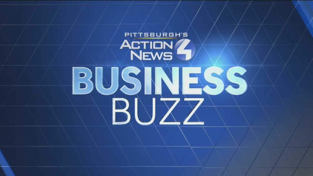 Pittsburgh's Action News 4's Kelly Frey has today's Business Buzz report for Pittsburgh.