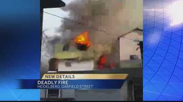 One person died in a house fire Thursday on Garfield Street.