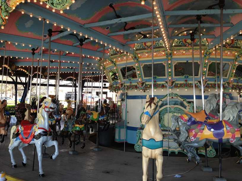 The iconic carousel is ready for its 89th year of operation