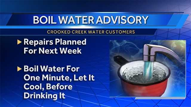 Indiana County residents under boil water advisory