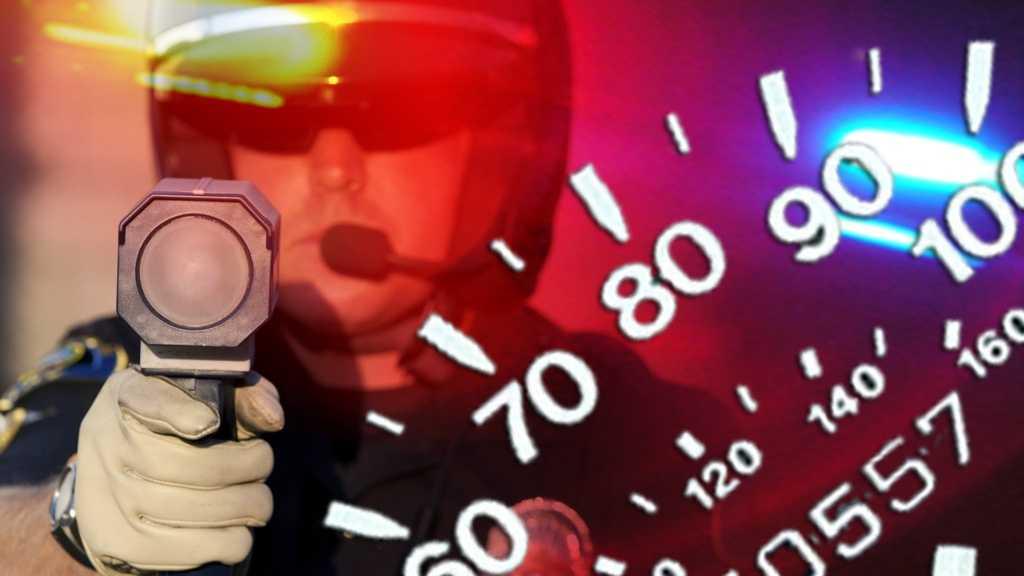 Radar guns graphic