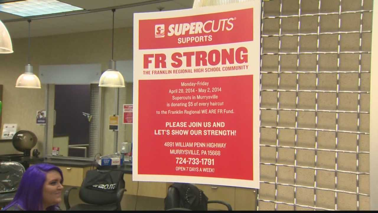 Local businesses raise money for Franklin Regional victims before prom