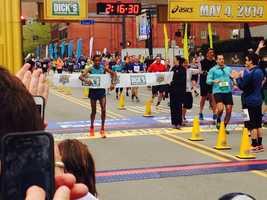 Congratulations to Gebo Burka on winning the Pittsburgh Marathon