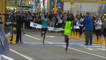 Marathon Men's Winner: Gebo Burka