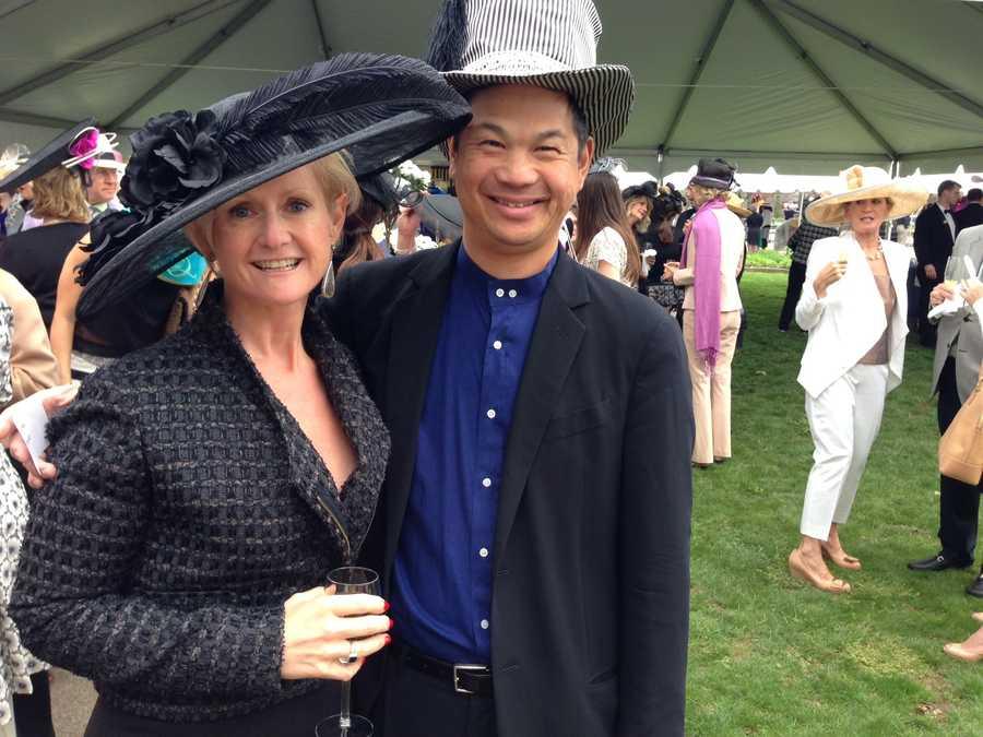 Annie Engel & PSO violinist Chris Wu