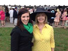 Pittsburgh's Action News 4 reporter Courtney Fischer and anchor Sally Wiggin