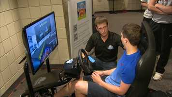 "The AT&T ""Texting … It Can Wait"" tour stopped at Upper St. Clair High School on Monday."