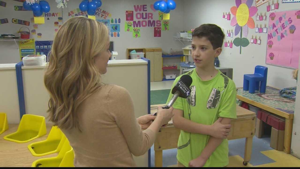 Elliott Granes talks to Pittsburgh's Action News 4 reporter Kelly Brennan.