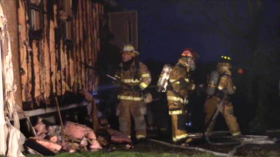 A woman fled her home in the Lake Arthur Estates after it caught fire in Muddy Creek Township, Butler County.