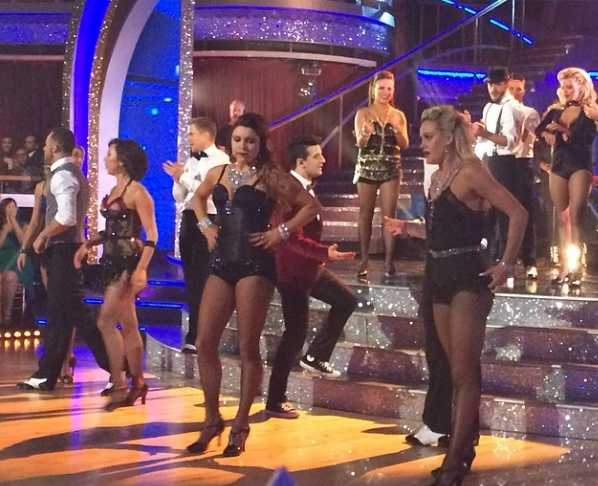 Opening number! DWTS #markballas #rocked