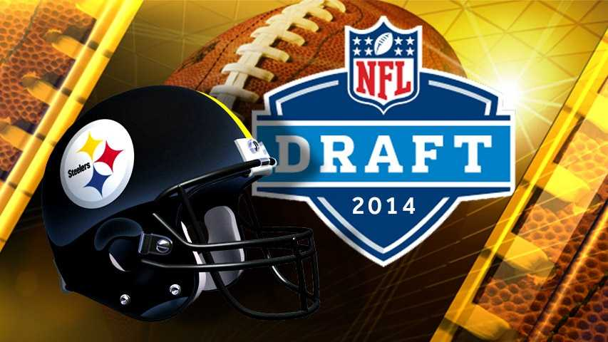 Steelers 2014 NFL Draft graphic