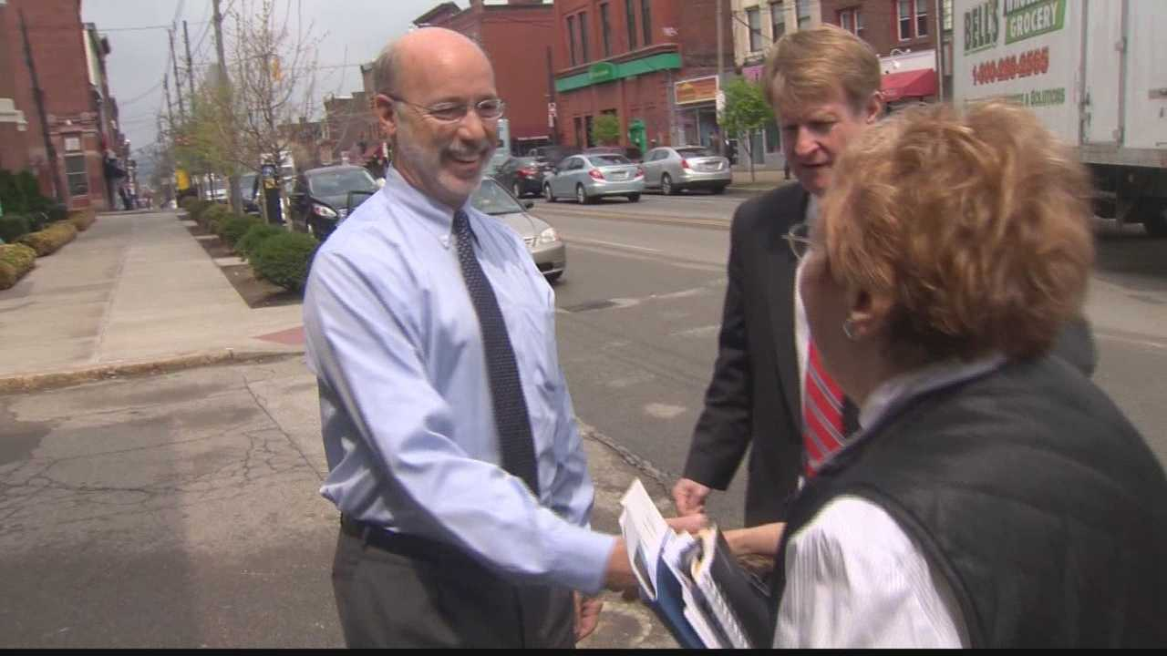 Tom Wolf in Bloomfield