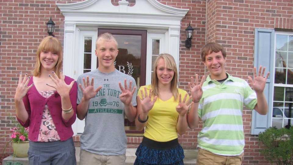 Sending one teenager to prom is costly, but what about sending four?