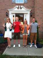 The Bakewell family quadruplets attend Elizabeth Forward High School, and on May 17, they are all going to prom.