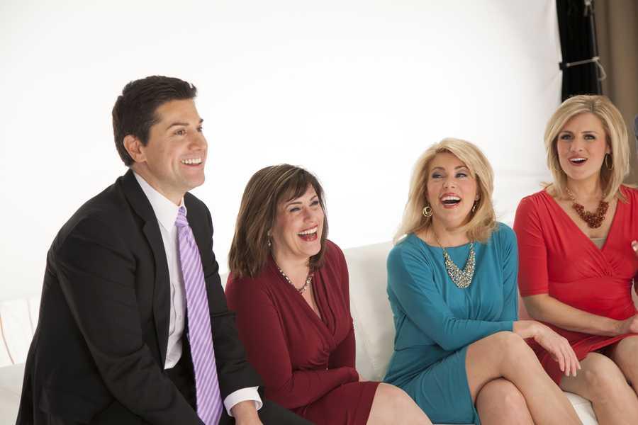 Steve keeps the ladies rolling in laughter