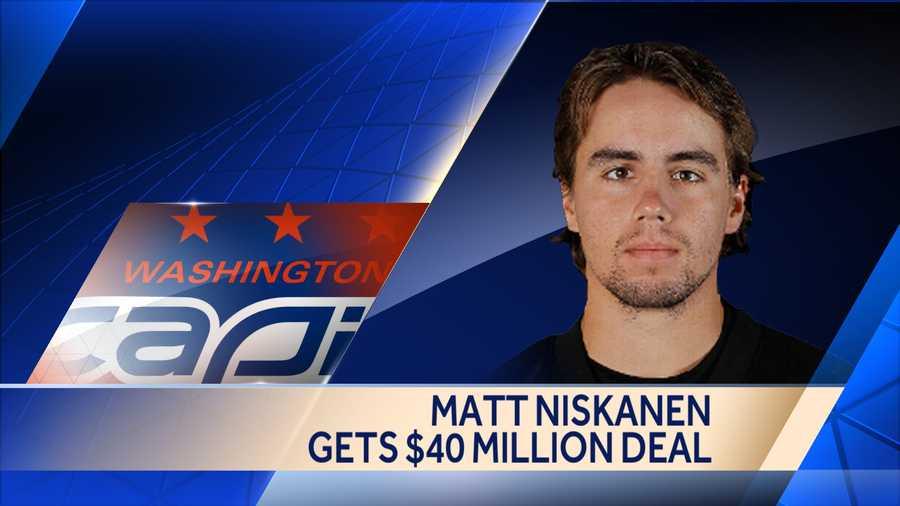 The Capitals inked defenseman Matt Niskanen to a seven-year deal worth $40.25 million.