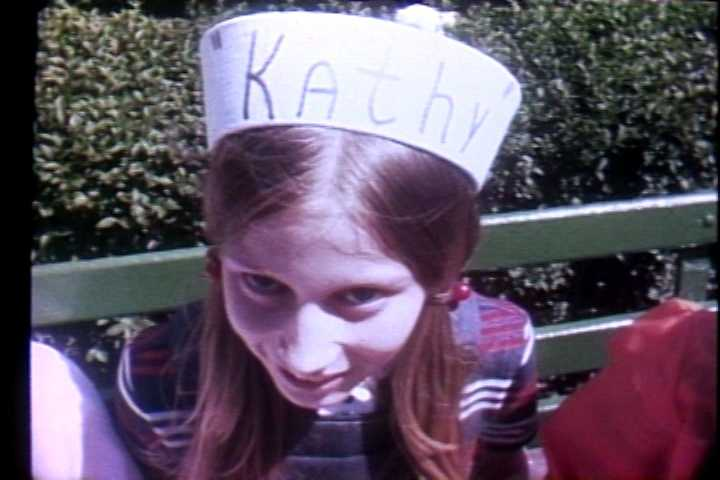 Kathy enjoys a day at Kennywood in 1972.