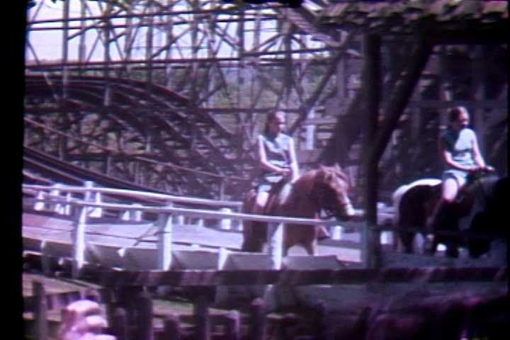 Did you know Kennywood Park used to have pony rides? Here's a picture from 1972.