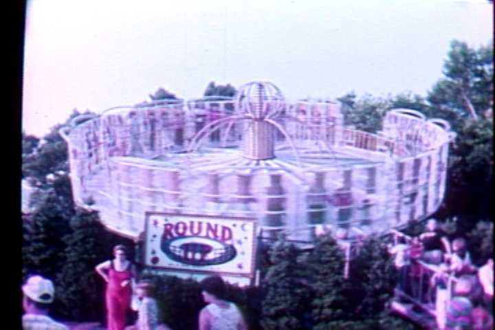 The Round-Up ride in 1979.