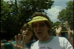 Kennywood Park visitors in 1983.