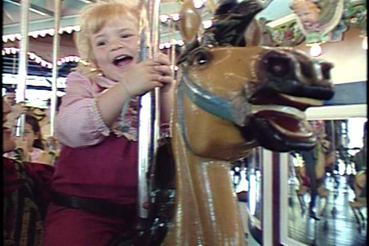 An image of the Grand Carousel from 1987.