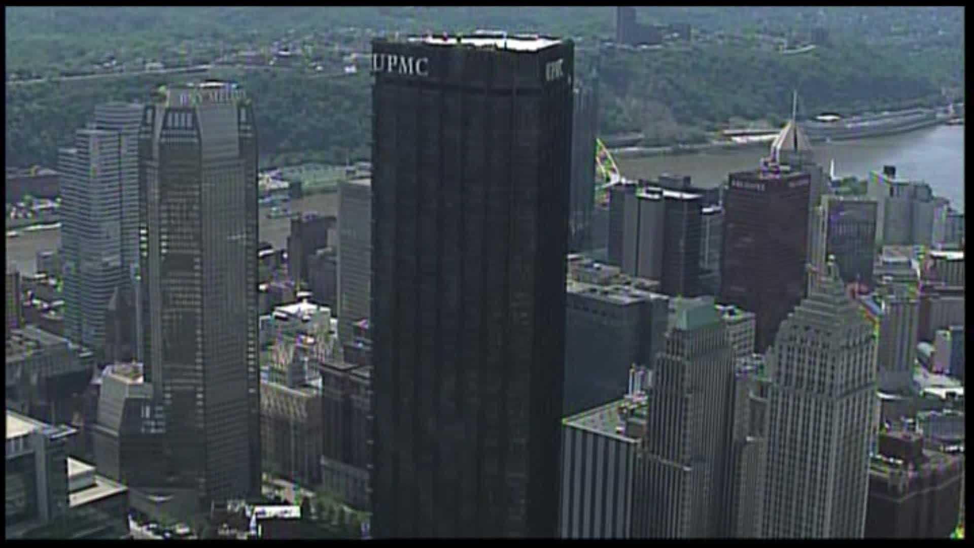 Downtown skyline U.S. Steel Tower UPMC