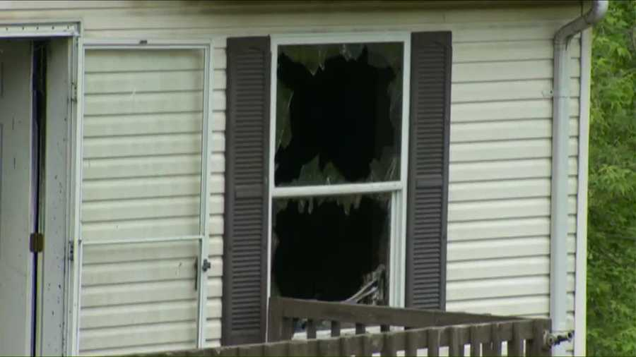 Penn Hills' fire chief told Pittsburgh's Action News 4 a drunken driver crashed a truck into the home in the 1500 block of Universal Road a few months ago and it was condemned afterward.