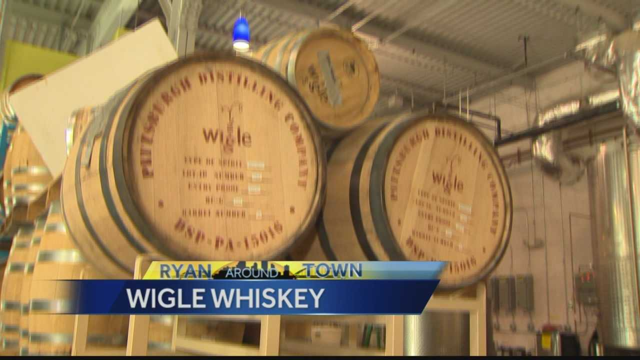 Pittsburgh's Action News 4's Ryan Recker takes us behind the scenes of Wigle Whiskey in the Strip District.