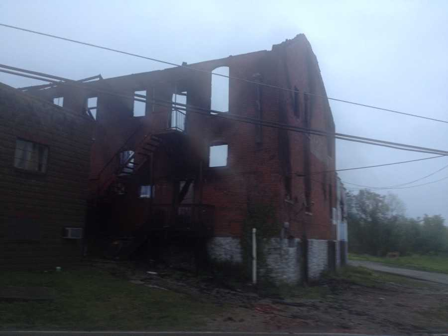 Authorities say it's the third suspicious fire in Republic, Fayette County, in recent weeks.