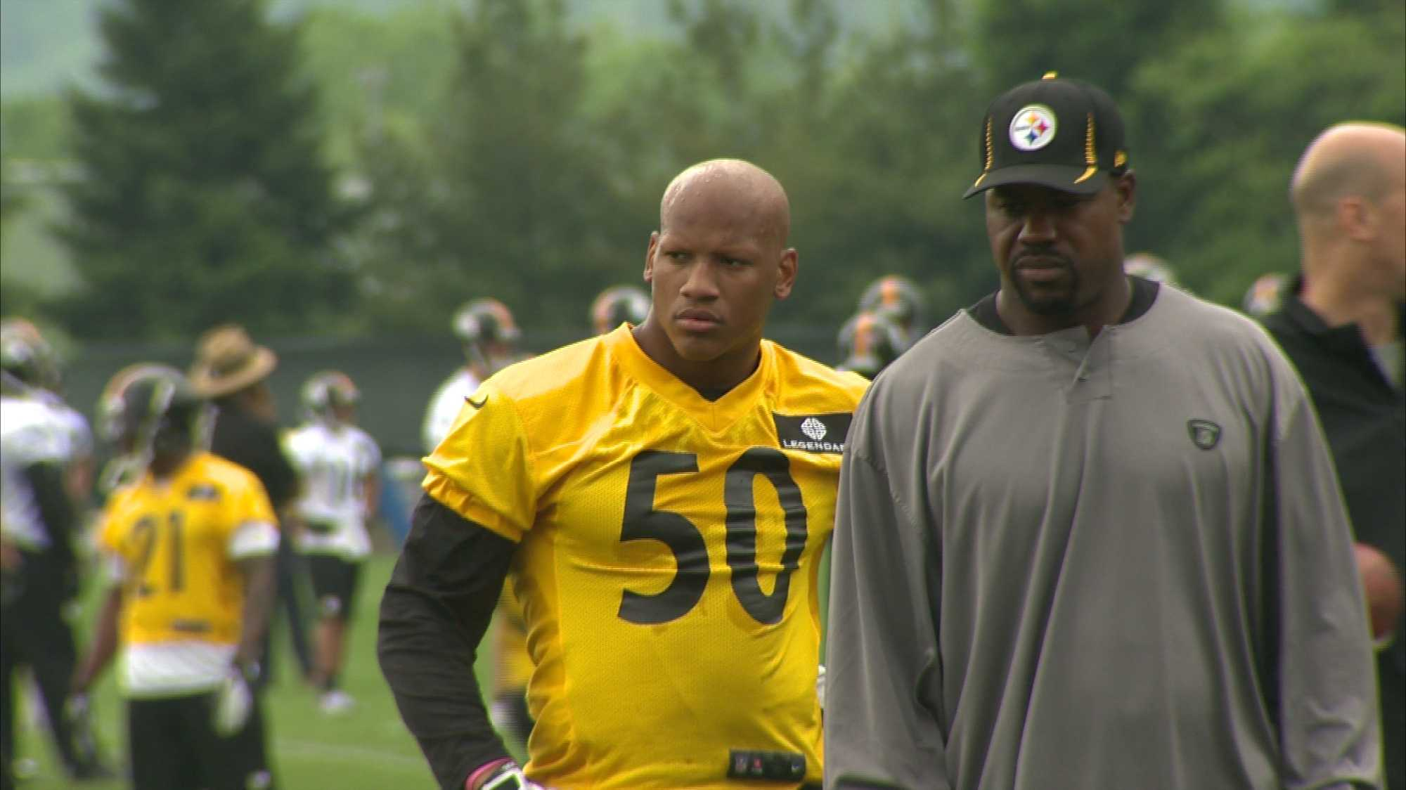 Steelers sign first round draft pick Ryan Shazier