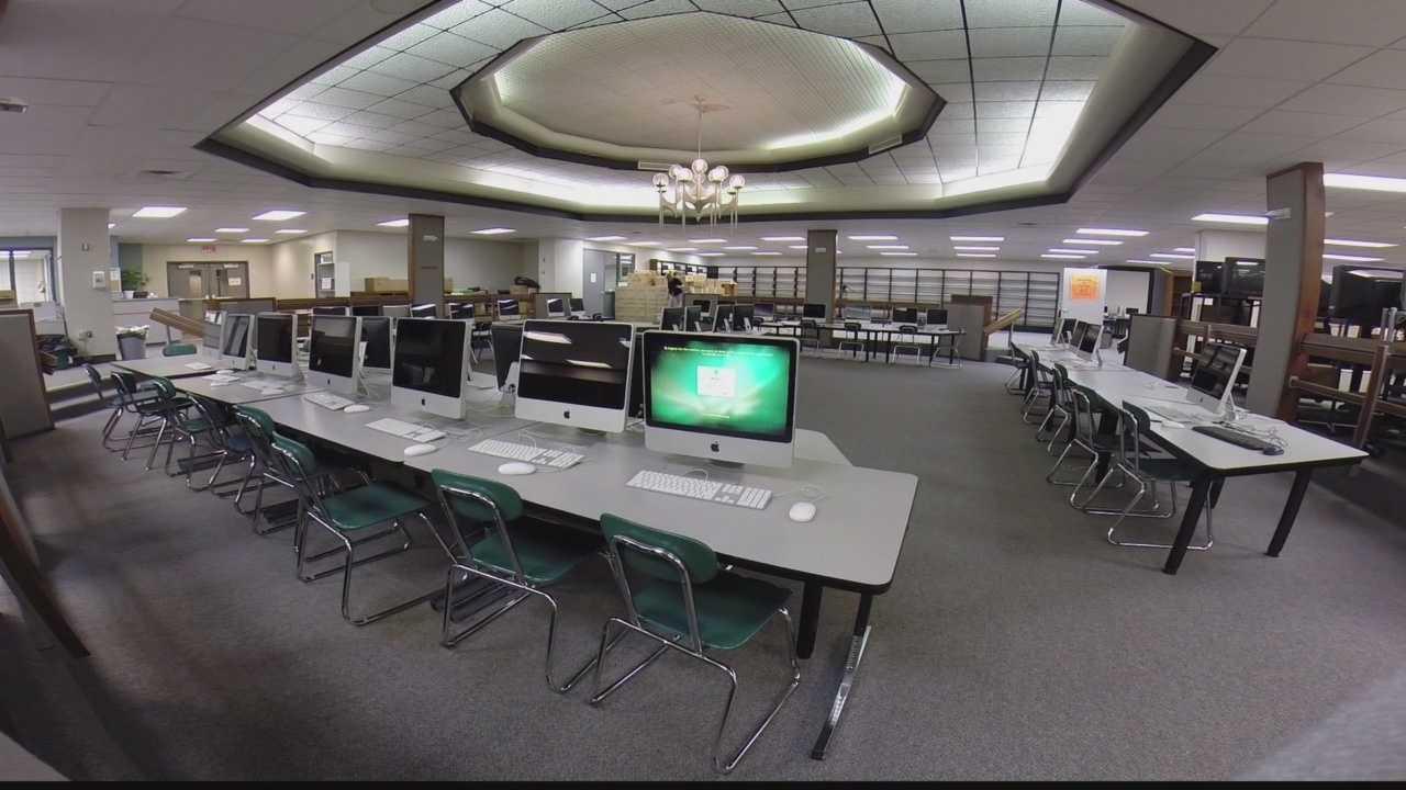 img-Penn-Trafford High School library