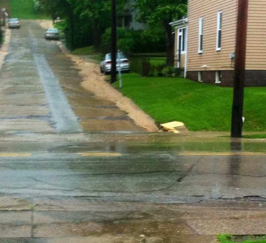 Flooding in Houston, Washington County