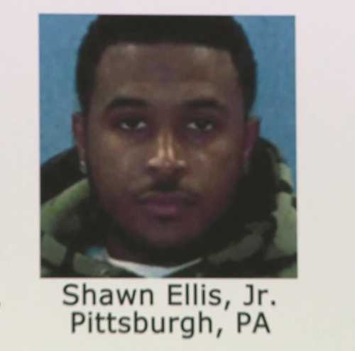 Shawn Ellis Jr. has since been taken into custody.