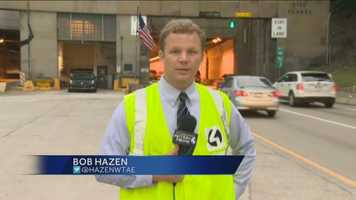 Bob Hazen went inside the Squirrel Hill Tunnel and tweeted pictures while he had some time to spare between his live reports on Pittsburgh's Action News 4 This Morning.