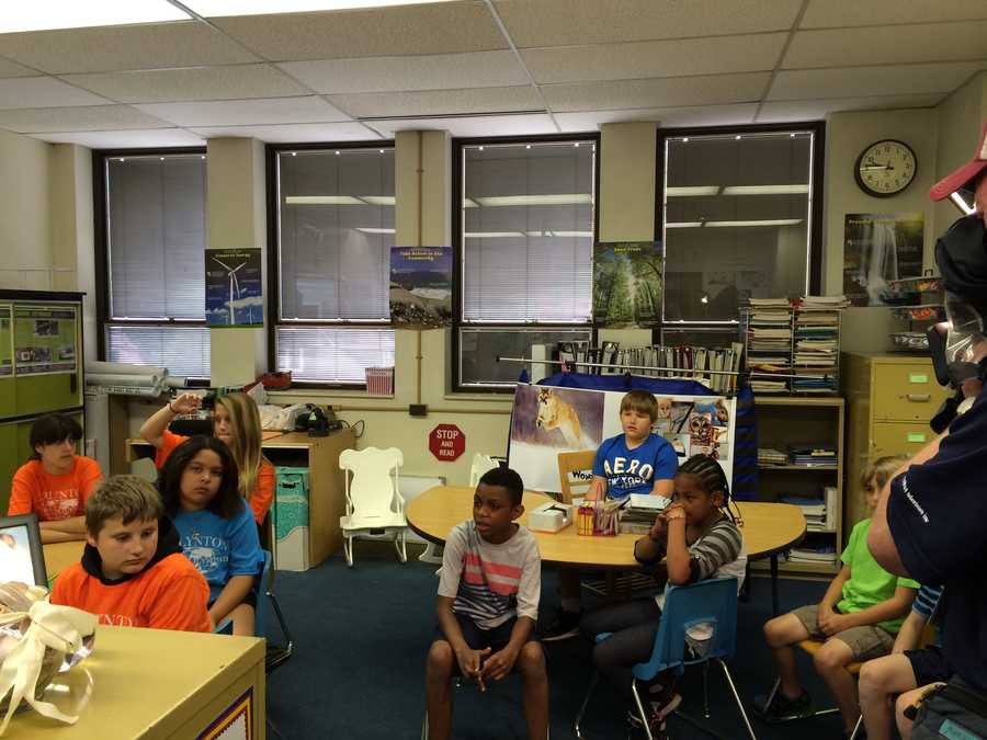 The students were taking part in a reading lesson by studying dolphins that later became known as the Dolphin Project.