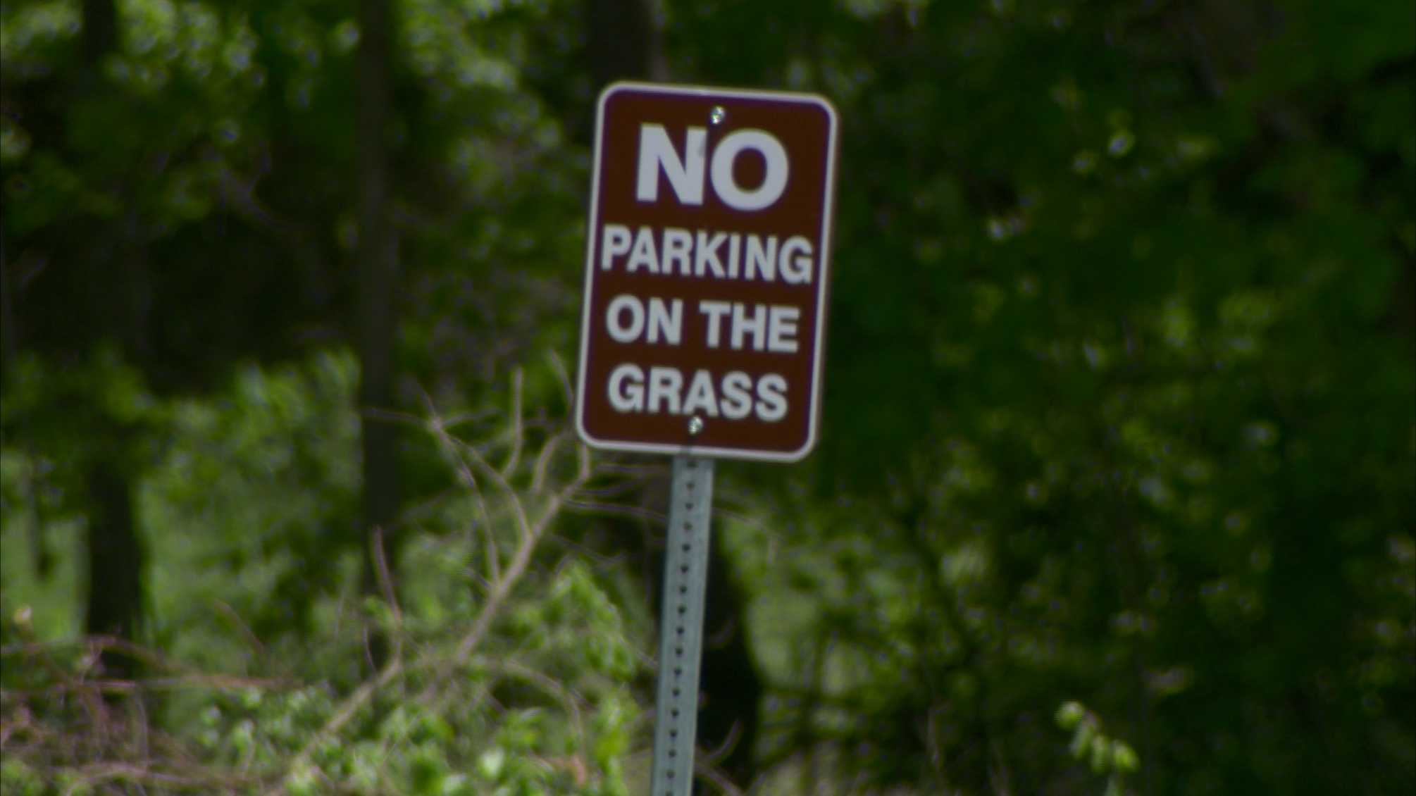 No parking on the grass at North Park.jpg
