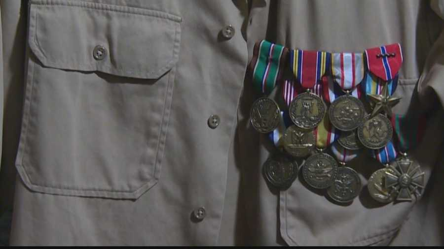 The French medal will be added to the four bronze stars and countless ribbons that are pinned to the tunic Vernillo wore home from Europe.