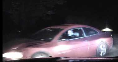 State police say they were involved in a pursuit on May 25 in the area of Big Sixx Road in Georges Township, Fayette County. They say this man drove through a yard and down an embankment, at which point they were unable to keep following him.