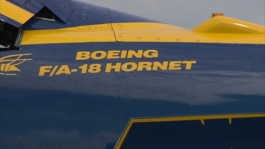 And it's not every day someone gets to fly with the Blue Angels, let alone come close to breaking the sound barrier.