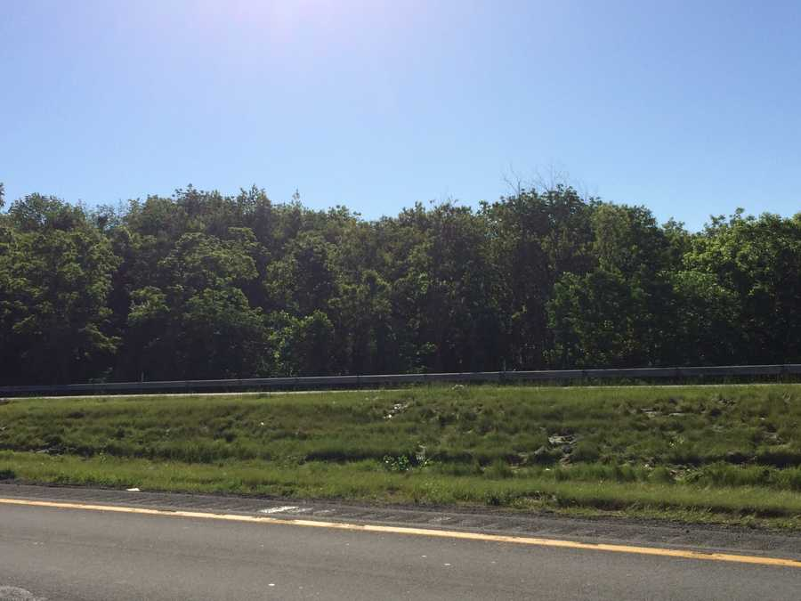 The crash happened in this area of Interstate 70, near mile marker 12.