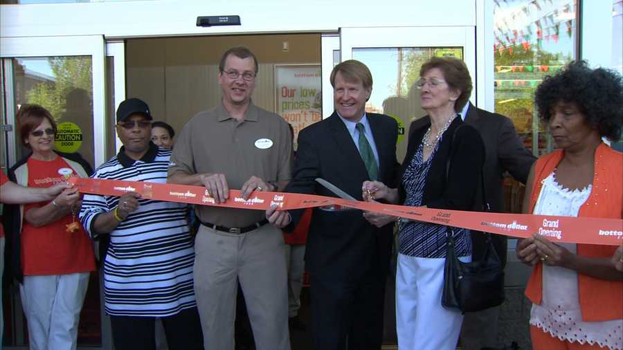 """""""We look forward to opening our doors at our new Garfield location this week and providing the local community with unbelievable savings on groceries, as well as some fun opportunities for free items and gift cards over the next couple of weeks,"""" Bottom Dollar Food President Meg Ham said in a news release."""