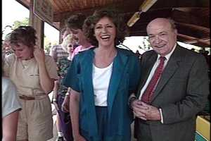 The late Yvonne Zanos and Paul Long were popular among WTAE viewers for many years.