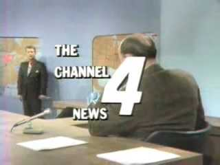 For those who aren't familiar with Paul Long, he came to WTAE in 1969 and anchored our newscasts for many years. Here's an image from the desk as he talks to chief meteorologist Joe DeNardo.